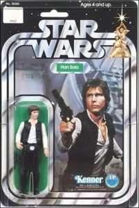 Vintage Han Solo action figure