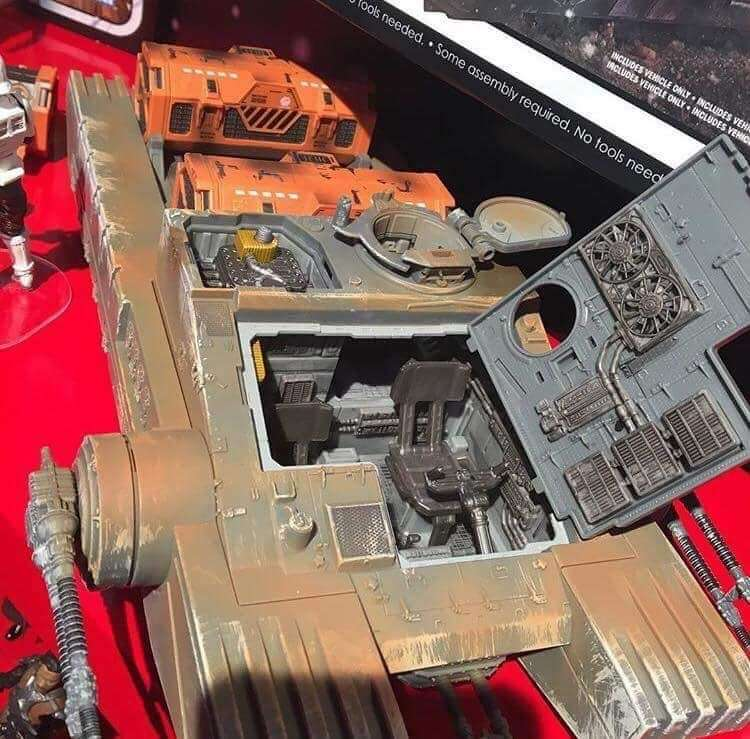 Inside the Hover Tank