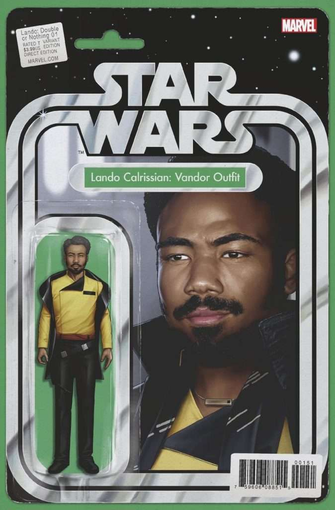Lando double or nothing action figure variant