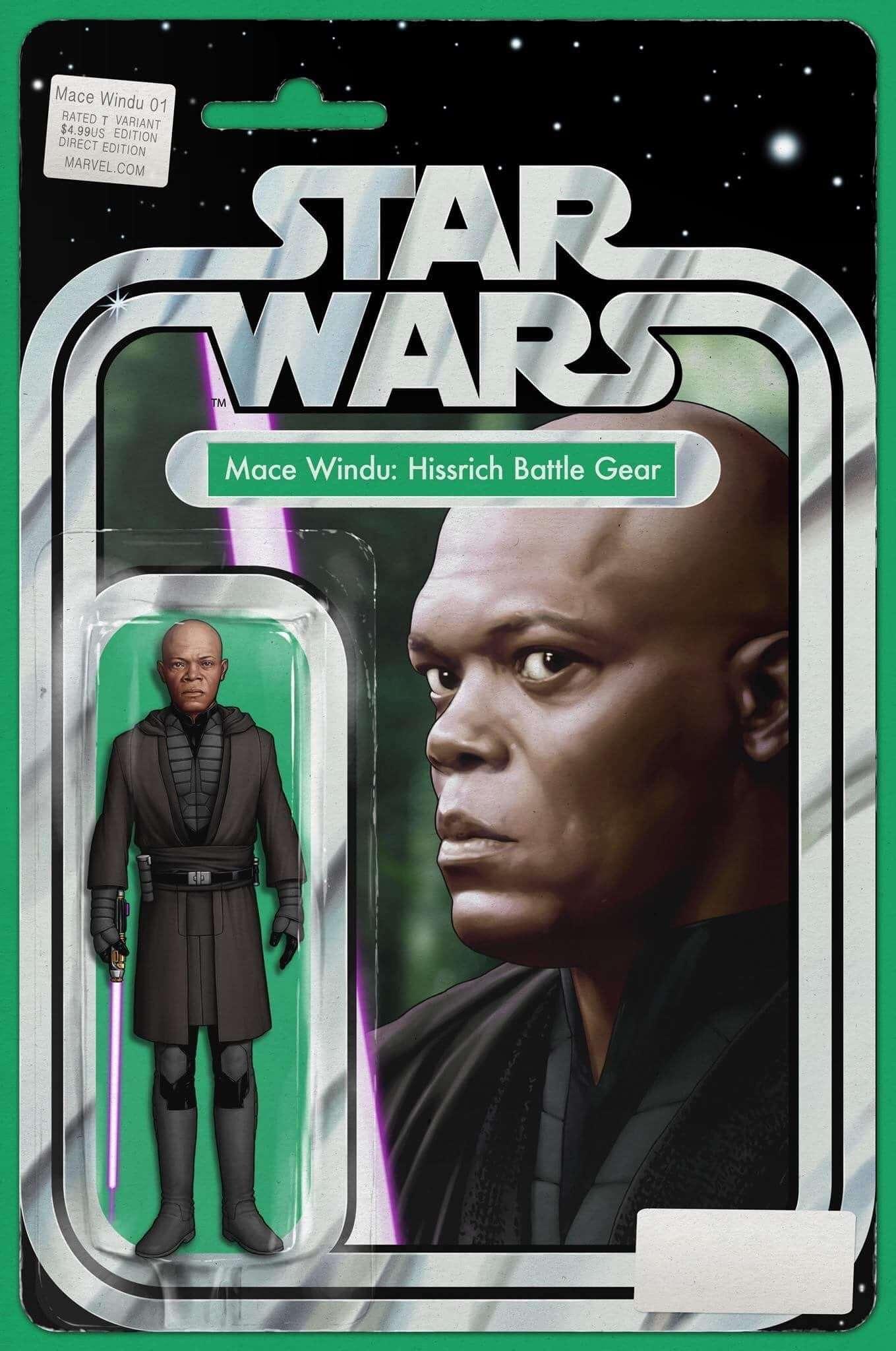 Mace Windu: Jedi of the Republic #1 Action figure variant