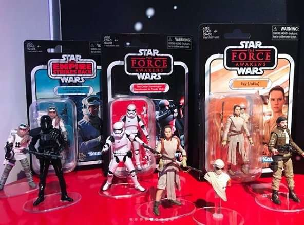 New Vintage Collection action figures 2018