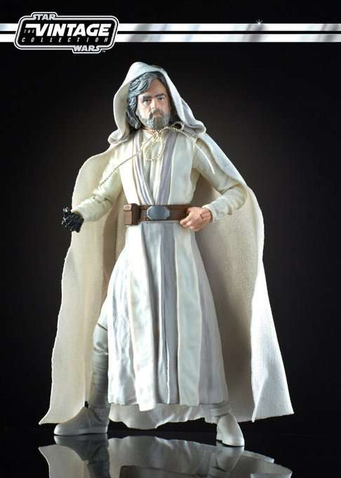 Old Man Luke Skywalker vintage collection