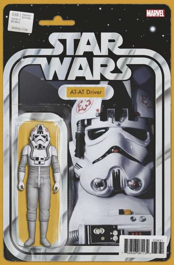 Star Wars # 38 Action figure variant: AT-AT Driver