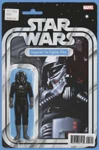 Star Wars #43 Action figure variant - Imperial Tie Fighter Pilot