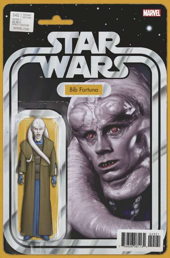 Star Wars #45 action figure variant, Bib Fortuna