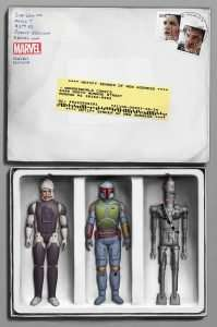 Star Wars #46 Bounty Hunter mail away package, Wonderworld comics