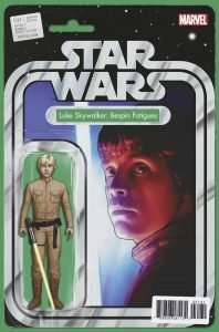 Star Wars #31 Action figure variant, Luke Skywalker in Bespin Fatigues