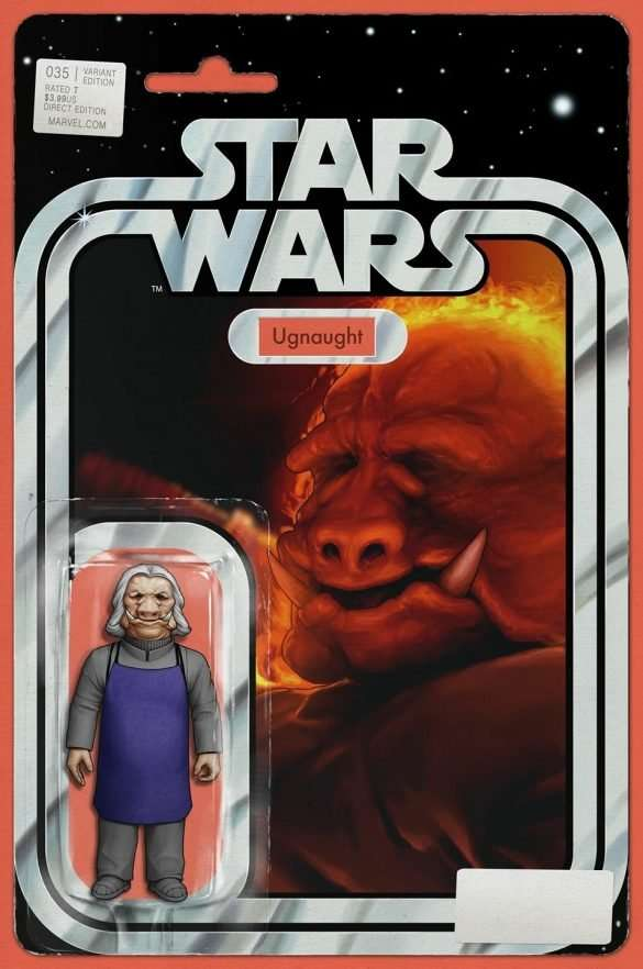 Star Wars #35 Action figure variant, Ugnaught