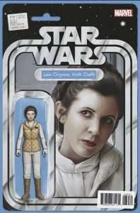 Star Wars #36 action figure variant, Leia Organa Hoth Outfit
