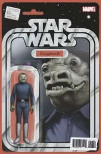 Star Wars #37 action figure variant - blue snaggletooth