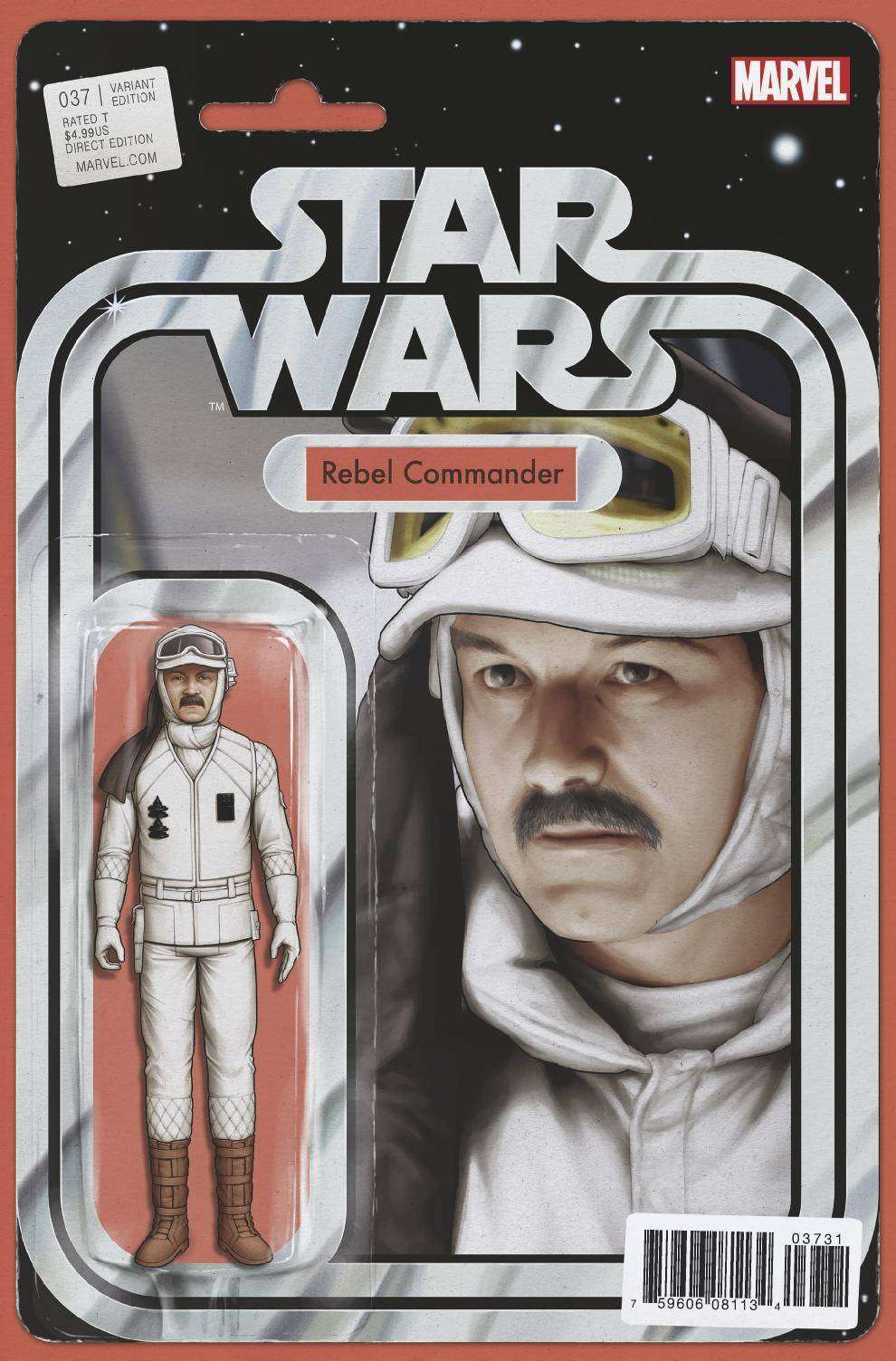 Star Wars #37 Action figure variant, Rebel Commander
