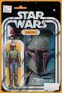 Star Wars#4 Boba Fett variant