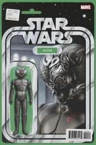 Star Wars #42 Action figure variant, 4-LOM