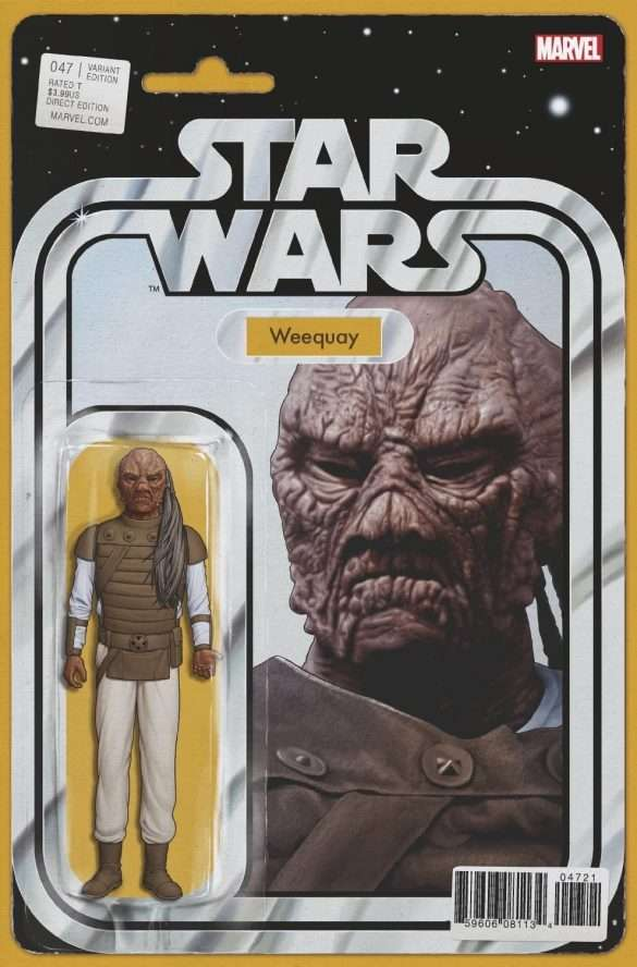 Star Wars #47 action figure variant, Weequay