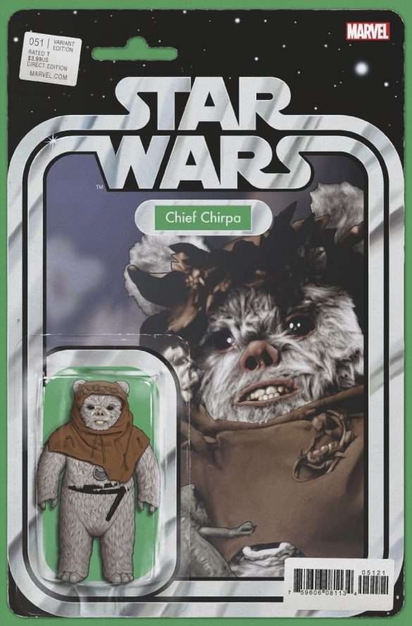 Star Wars #51 action figure variant, Chief Chirpa