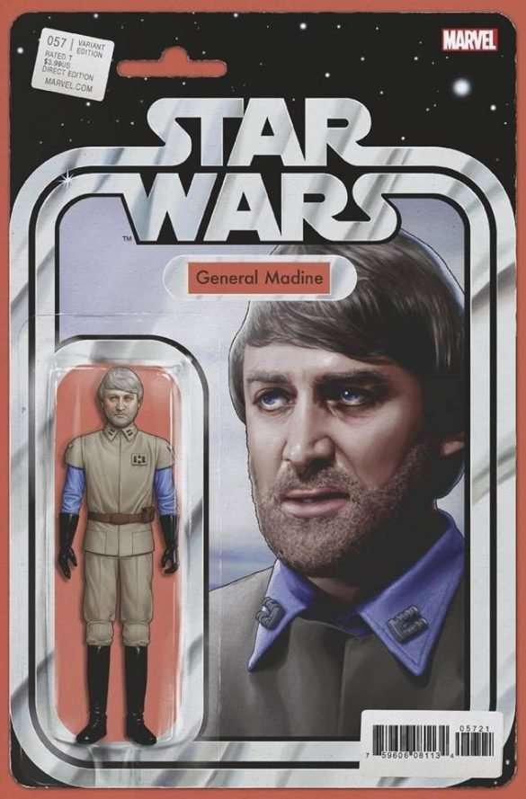 Star Wars #57 action figure variant