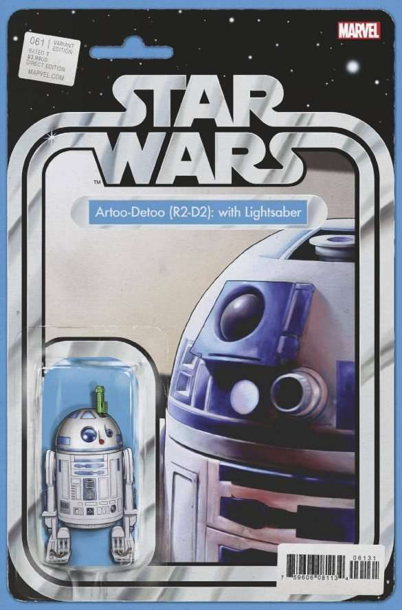 Star Wars #61 action figure variant
