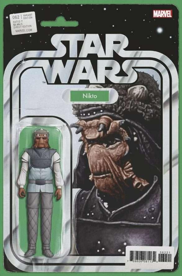 Star Wars #62 action figure variant - Nikto