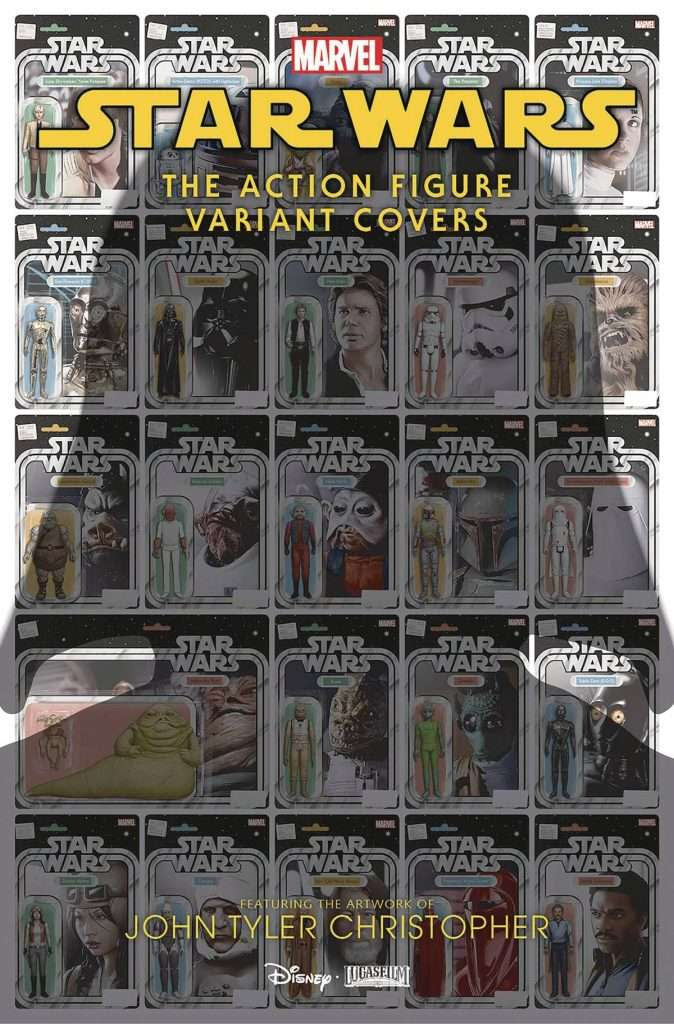 Star Wars Action Figure Variant Covers book