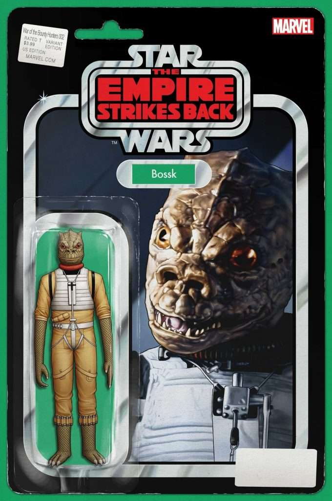 War of the Bounty Hunters #2 action figure variant