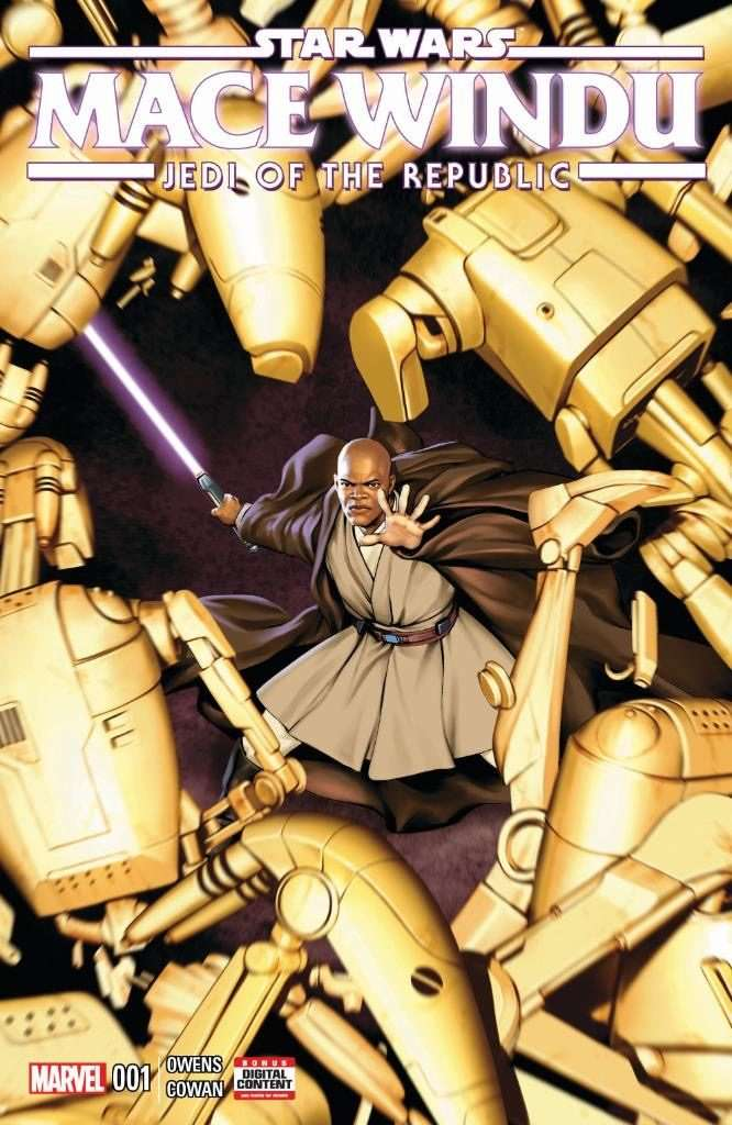 Mace Windu #1 Jedi of the Republic