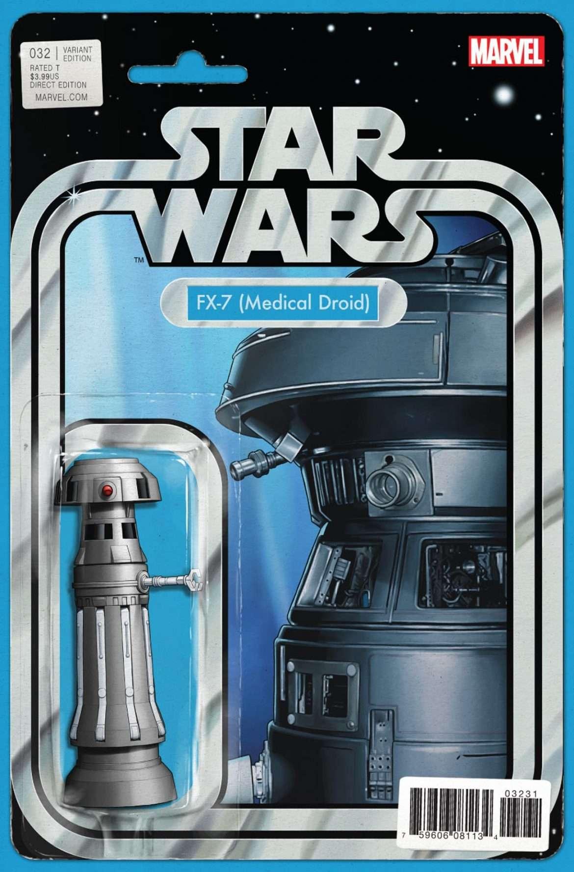 Star Wars #32 Action Figure Variant - FX-7 Medical Droid
