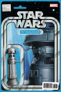 Star Wars #32 Action Figure Variant - FX-7 Medical Droid