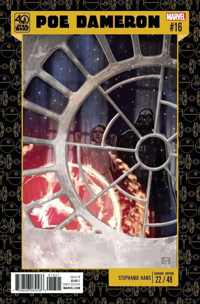 Poe Dameron #13 Star Wars 40th Anniversary Variant Marvel Comics 1st Print