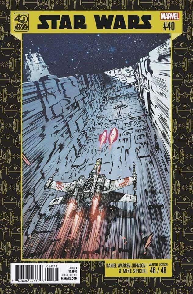 Star Wars #40, 40th Anniversary variant
