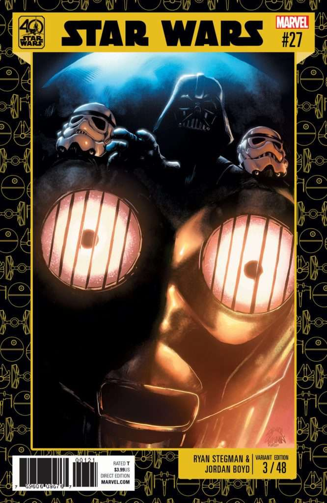 Star Wars #27 40th Anniversary variant cover