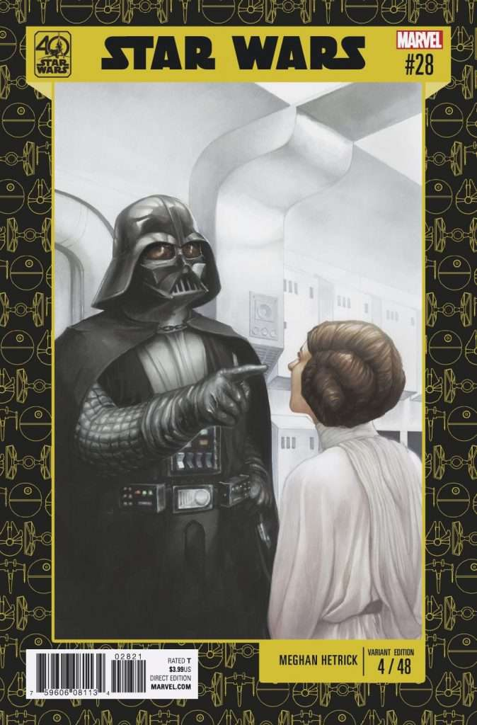 Star Wars #28 40th Anniversary variant cover