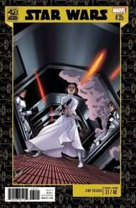 Star Wars #35 40th Anniversary variant cover