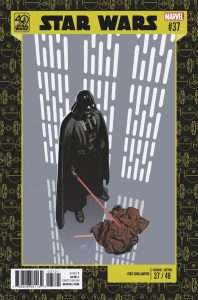 Star Wars #37 40th Anniversary variant cover
