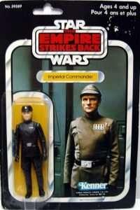 Imperial Commander vintage figure