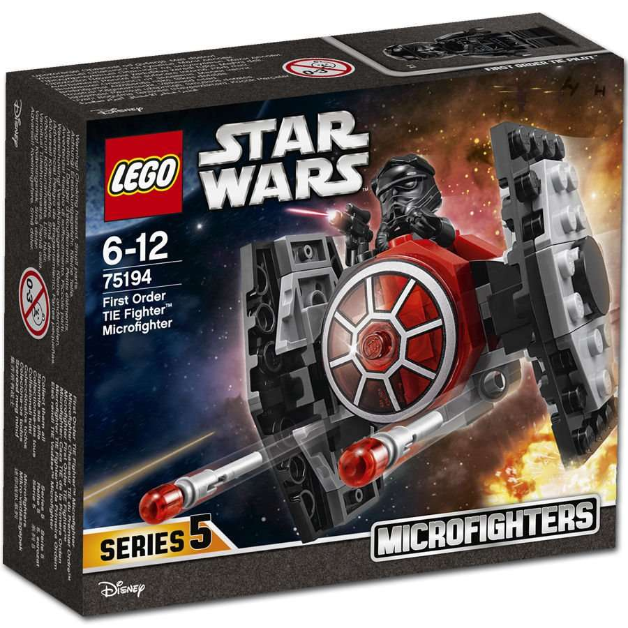 First Order Tie Fighter Microfighter Box
