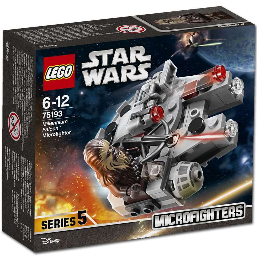 Millennium Falcon Microfighter Box