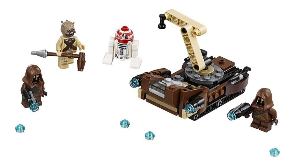Tatooine Battle Pack Set
