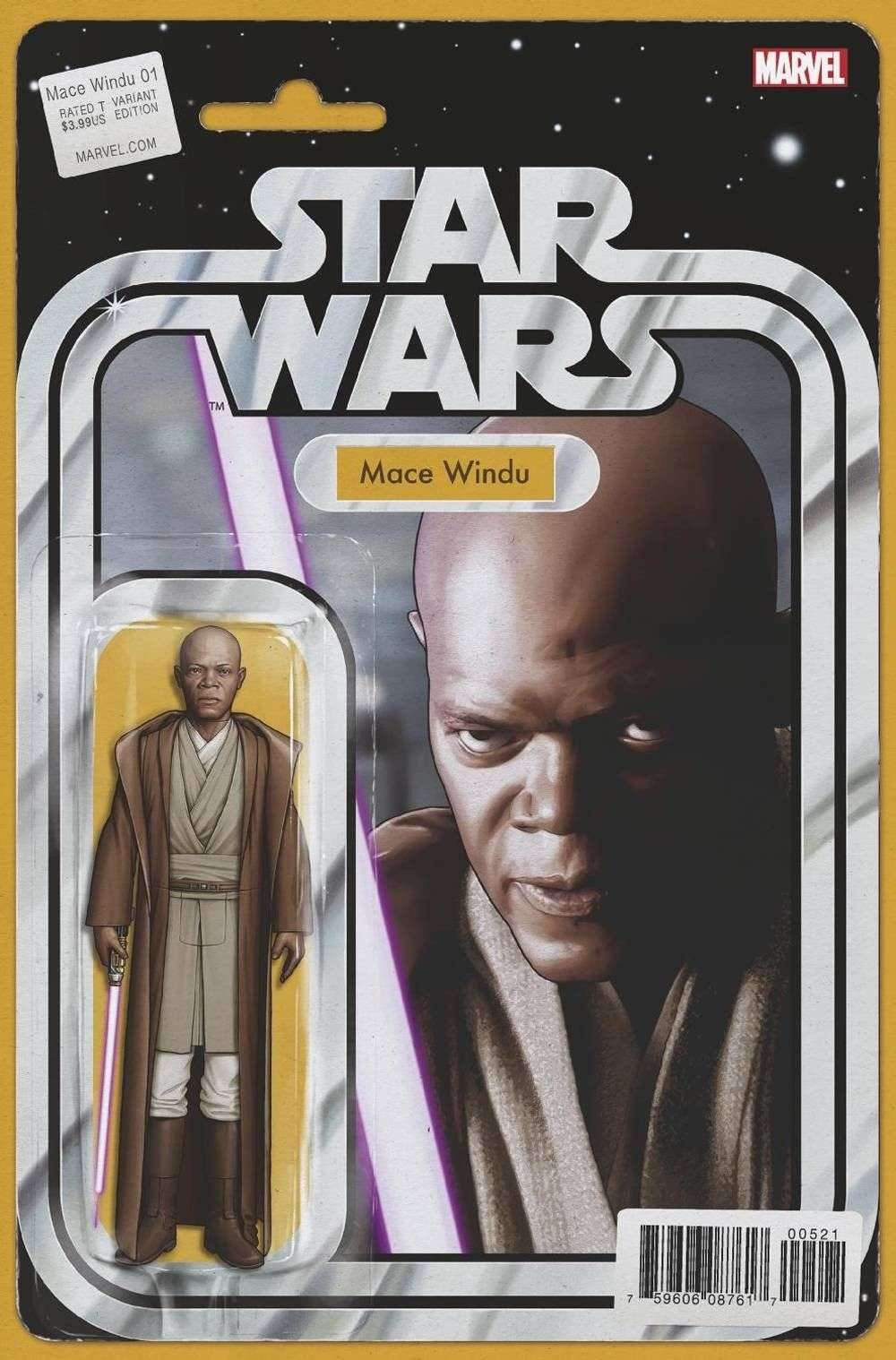 Mace Windu #5 Action figure variant