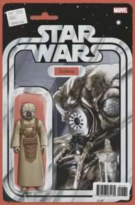 Star Wars #41 Action figure variant, Zuckuss