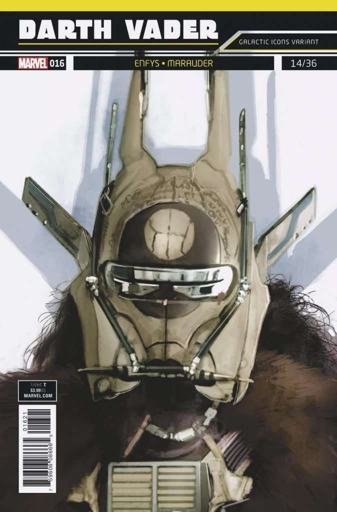 Darth vader #16 galactic icon variant