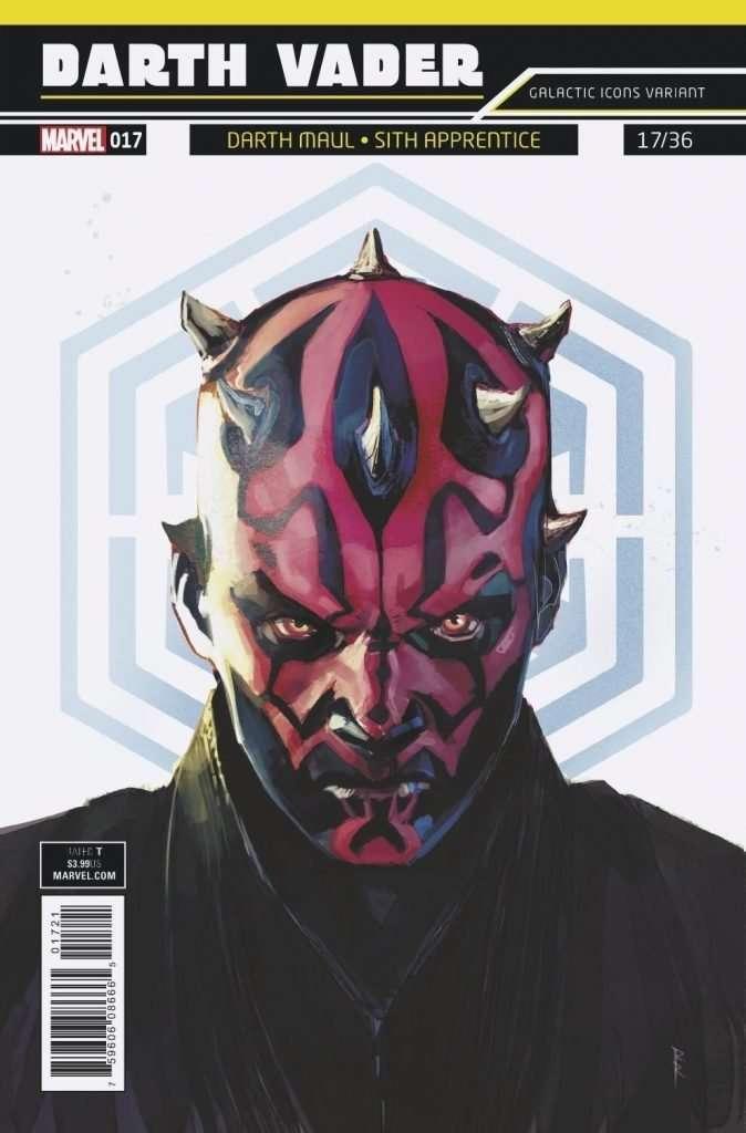 Darth Vader #17 galactic icon variant