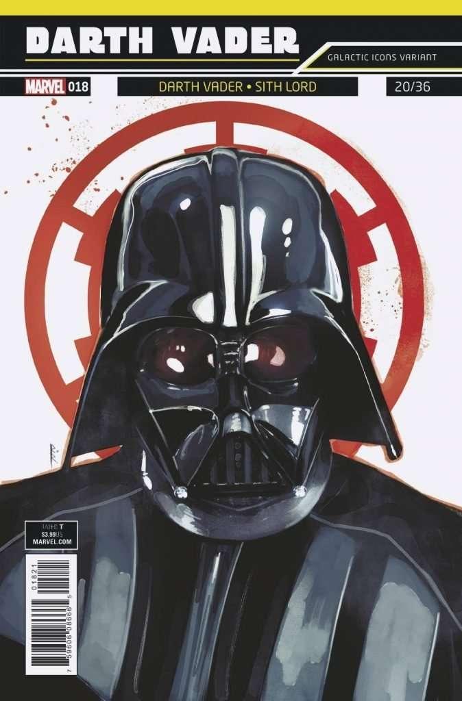 Darth Vader #18 galactic icons variant