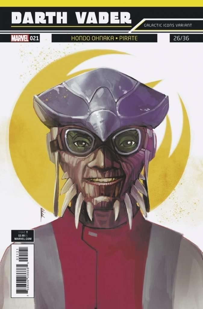 Darth Vader #21 Galactic Icons variant cover