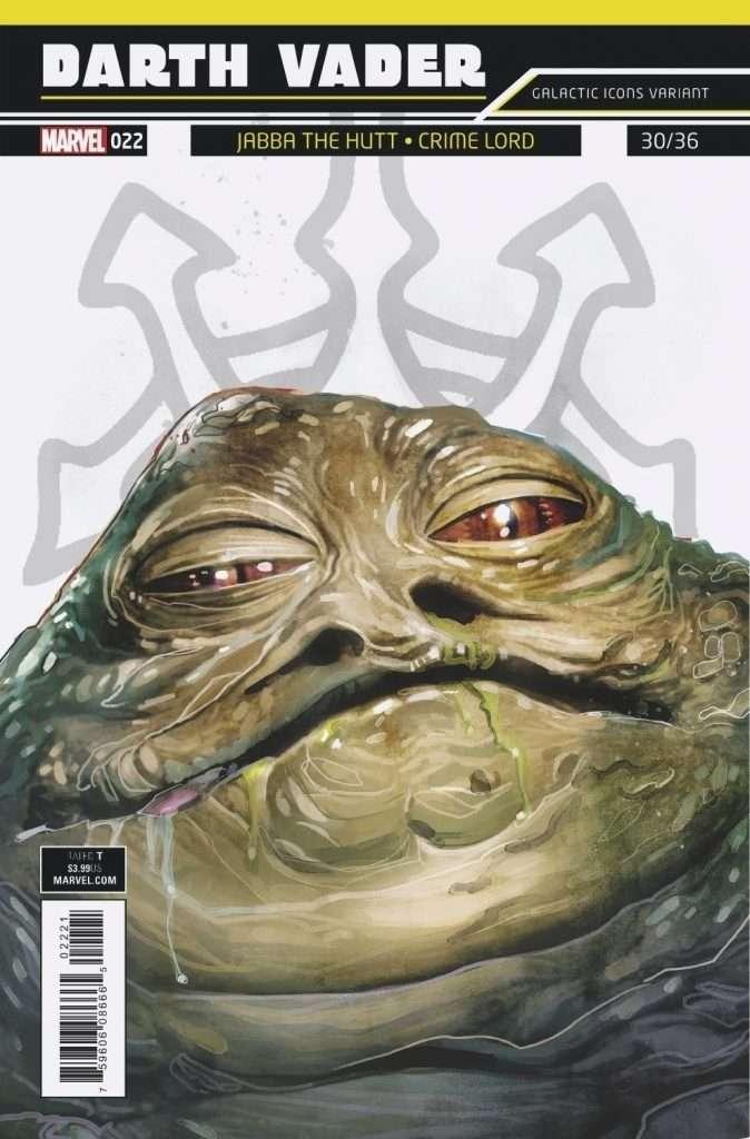 Darth Vader #22 galactic icons variant