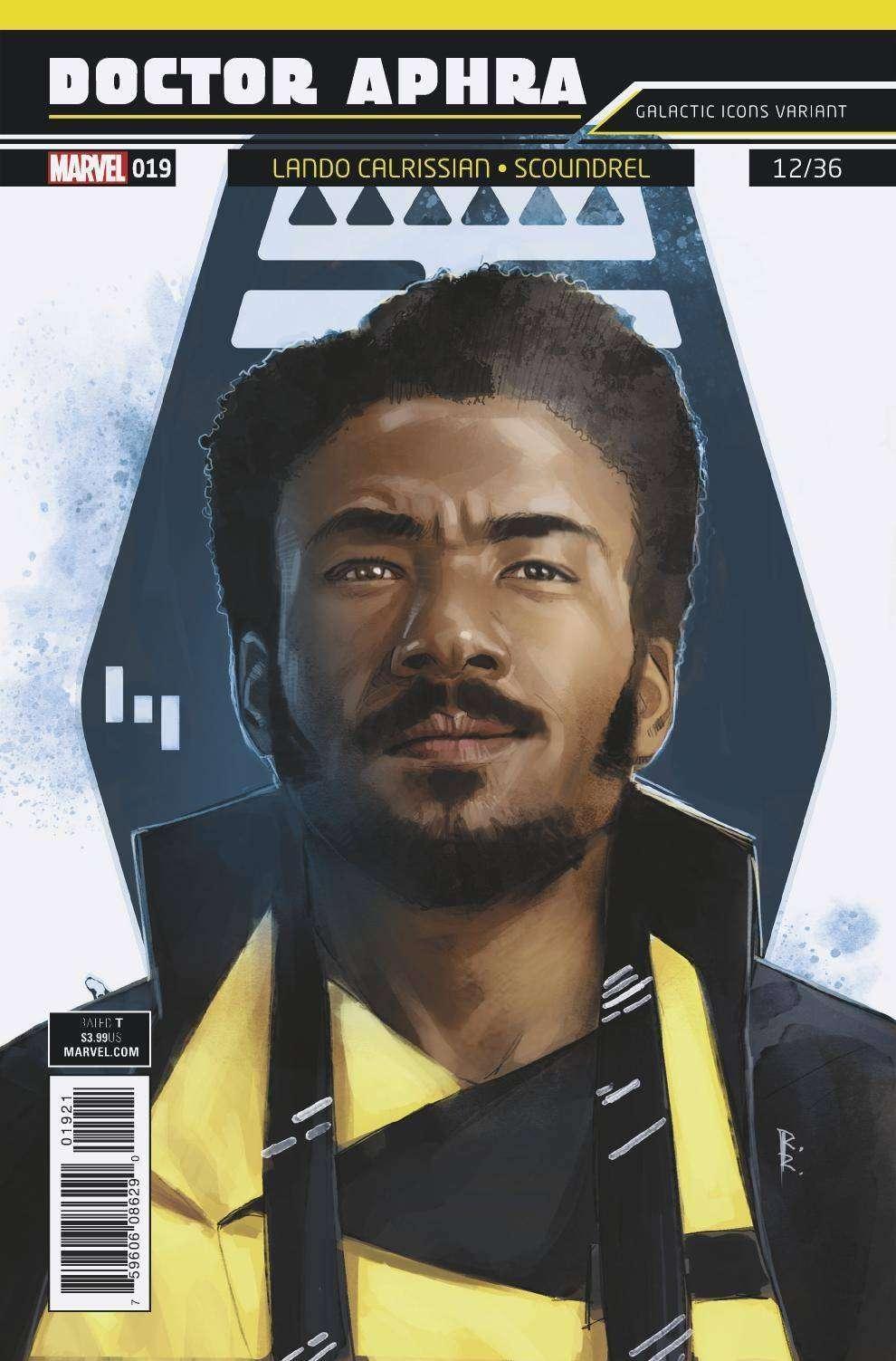 doctor aphra #19 galactic icon, lando