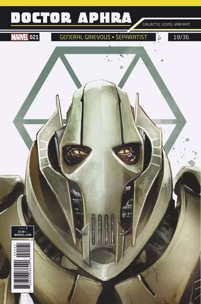 Doctor Aphra #21 Galactic Icon Variant
