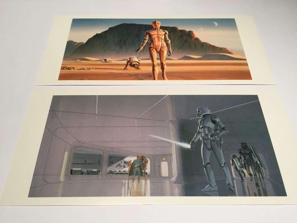 droids & Stormtrooper concept art