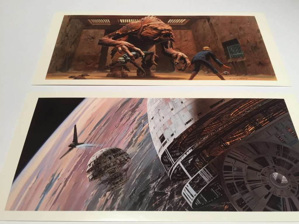 rancor & death star concept art