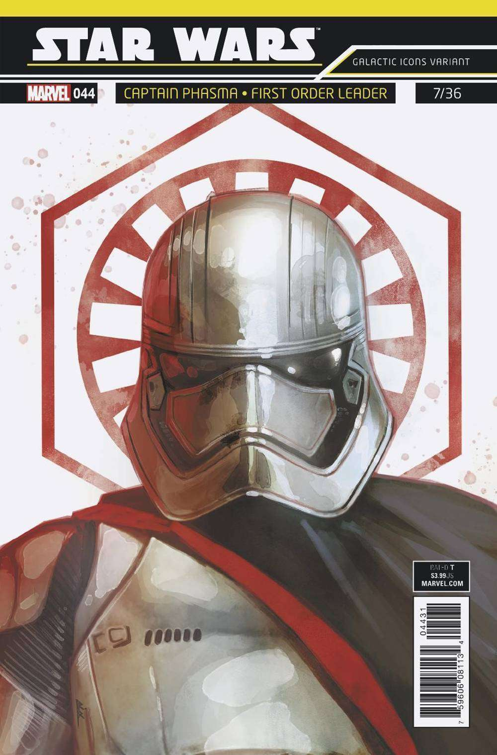 Star Wars #44 Galactic icon: Captain Phasma