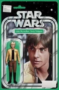 Star Wars #40 action figure variant, Luke Skywalker: Yavin Fatigues